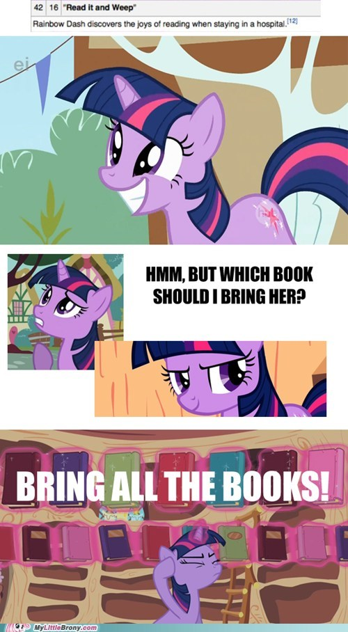 books comics rainbow dash read it and weep twilight sparkle - 5772066560