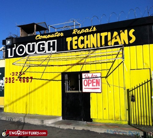 Tough computer technitians in Watts, CA