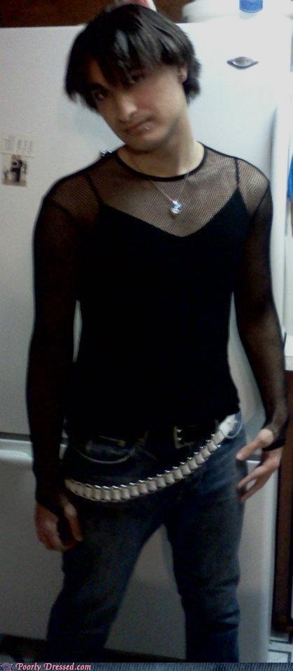 belt,black,emo,goth,mesh