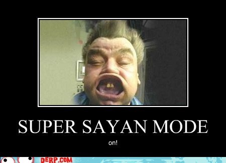 best of week,derp,Dragon Ball Z,super saiyan