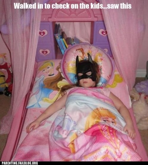 batgirl,check on the kids,needs some sleep