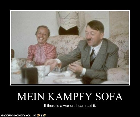 adolf hitler,political pictures,puns,wordplay