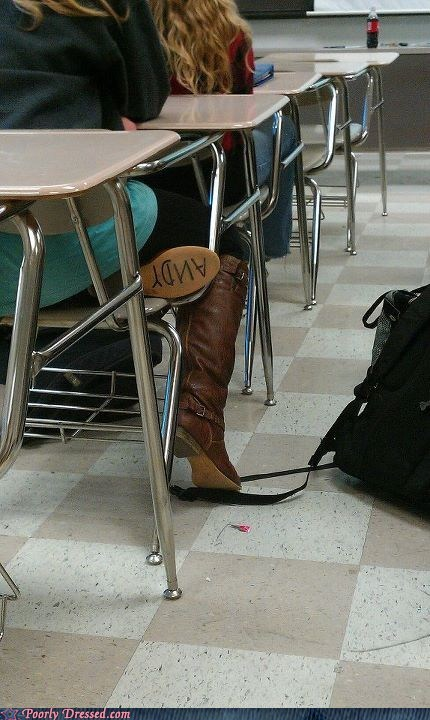 andy,boots,g rated,poorly dressed,school,toy story,woody
