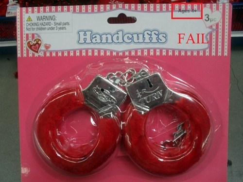 handcuffs toy Valentines day - 5773030656