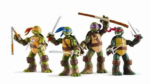 action figures nickelodeon ninja turtles playmates teenage mutant ninja turtles Toyz tv shows - 5773036544