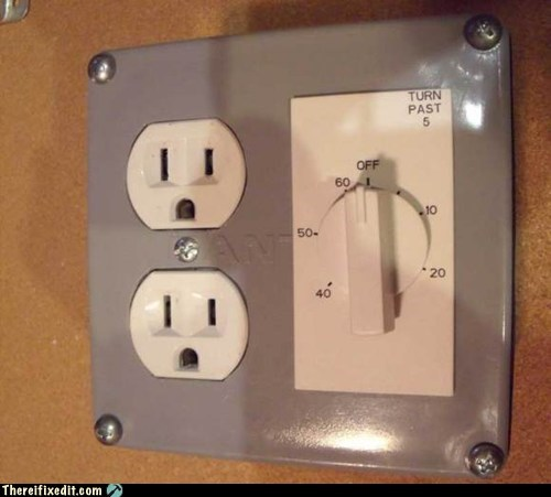 DIY Hall of Fame neat not a kludge outlet - 5773352704