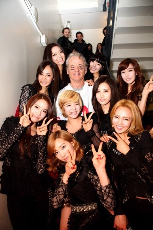bill murray girls-generation lettermans-30th-annivers - 5773388032