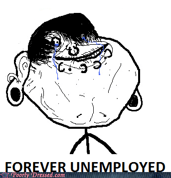 ear gauge emo forever alone forever unemployed job meme piercings scene unemployed