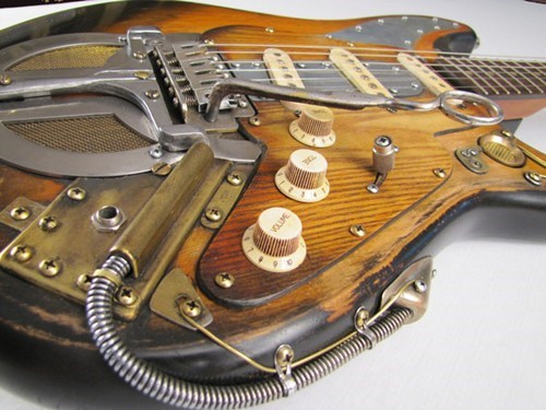 guitars merch Steampunk Tech tony cochran