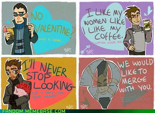 deus ex Fan Art Valentines day video games - 5773544192
