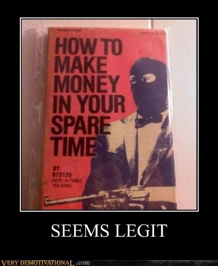 bank book hilarious robbery money seems legit - 5773892352