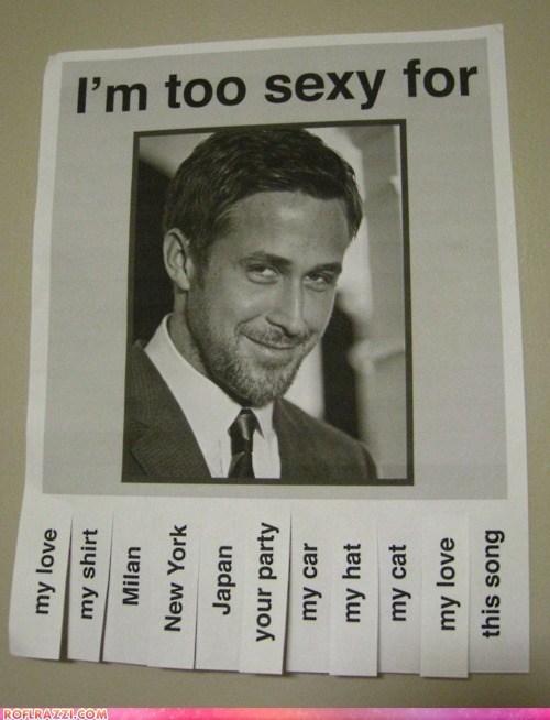 actor celeb funny Ryan Gosling sexy - 5774035712