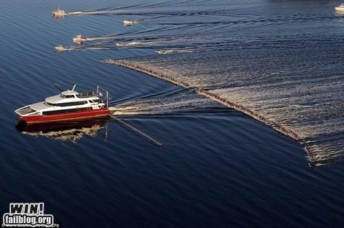 boat photography record skiing water ski - 5774185984