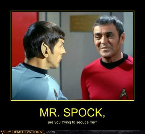 hilarious scotty Spock Star Trek wtf - 5774188800
