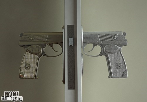 design,door,gun,home,knob,weapon