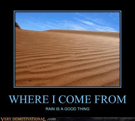 desert hilarious rain sand dunes - 5774552576