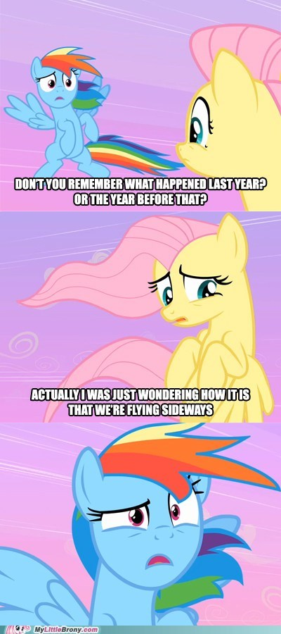 comic comics fluttershy flying rainbow dash sideways - 5774665216