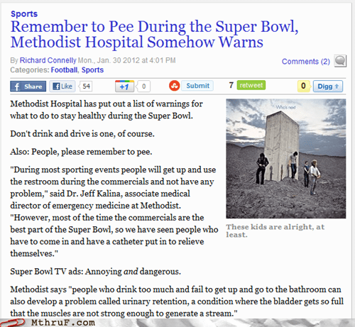 catheter commercials dont-watch-the-ads peeing during super bowl - 5774686464