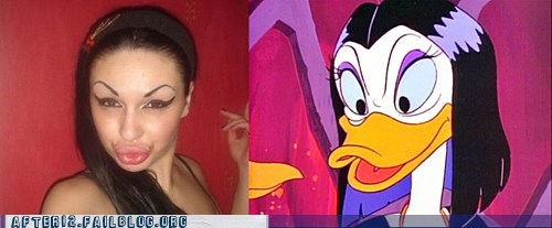 duck face ducktales quack woo girls - 5774859008