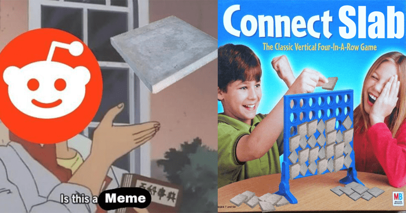 Funny memes about concrete slab, reddit, Me_IRl, dank memes, shitposting.
