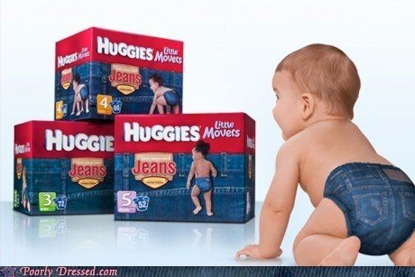 diaper jeans,diapers,huggies,levis