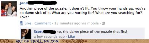 facebook life love puzzle - 5777665280