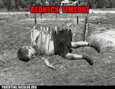 clothesline redneck timeout rednecks tractor - 5777716224