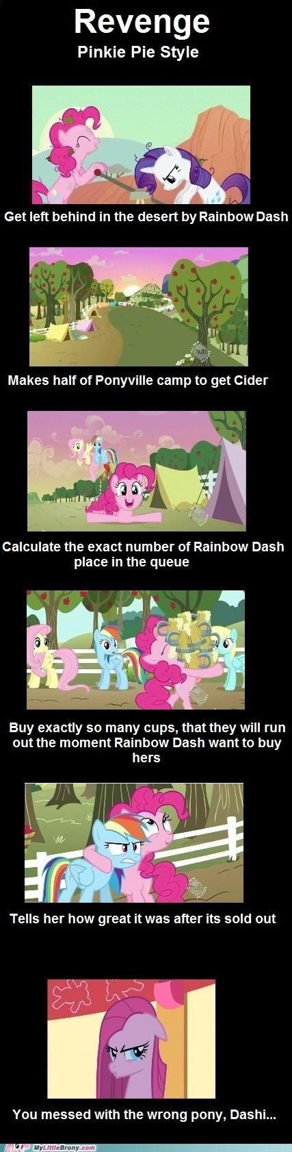 apple cider comics pinkie pie rainbow dash revenge - 5777921536