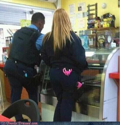 feminine handcuffs pink police pretty in pink - 5777942528