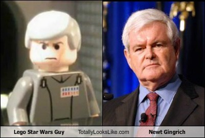 funny,Hall of Fame,lego,newt gingrich,star wars,TLL