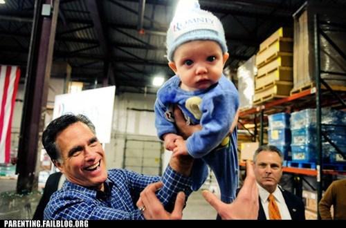 kissing babies Mitt Romney politics rich romney - 5778276864