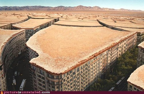 city desert photoshop wtf