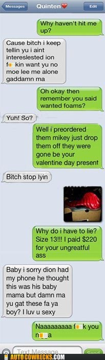 dating,ghetto,gift,relationships,shoes,valentine,Valentines day
