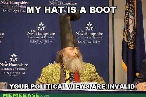 boot,hat,invalid,Memes,politics