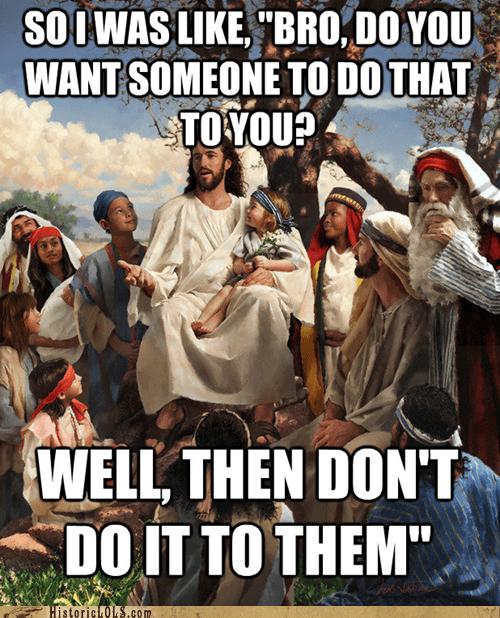 art color funny historic lols illustration jesus religion - 5778644736