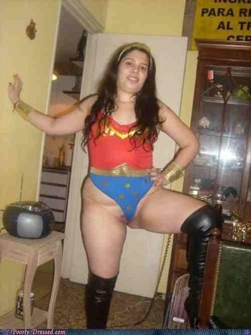 cosplay costume halloween superheroes thong underwear wonder woman - 5778710272