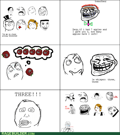 math Rage Comics so close troll truancy story - 5778713600