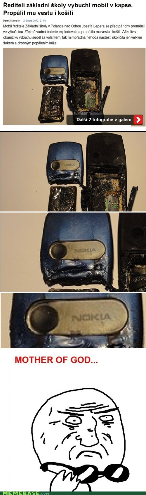 fast fire light nokia phone Rage Comics speed - 5778739200