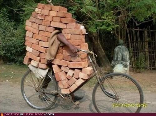 bicycle bricks mister bond wtf - 5778849792