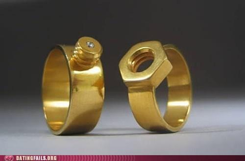 bolts wedding rings wondercouple - 5779005696