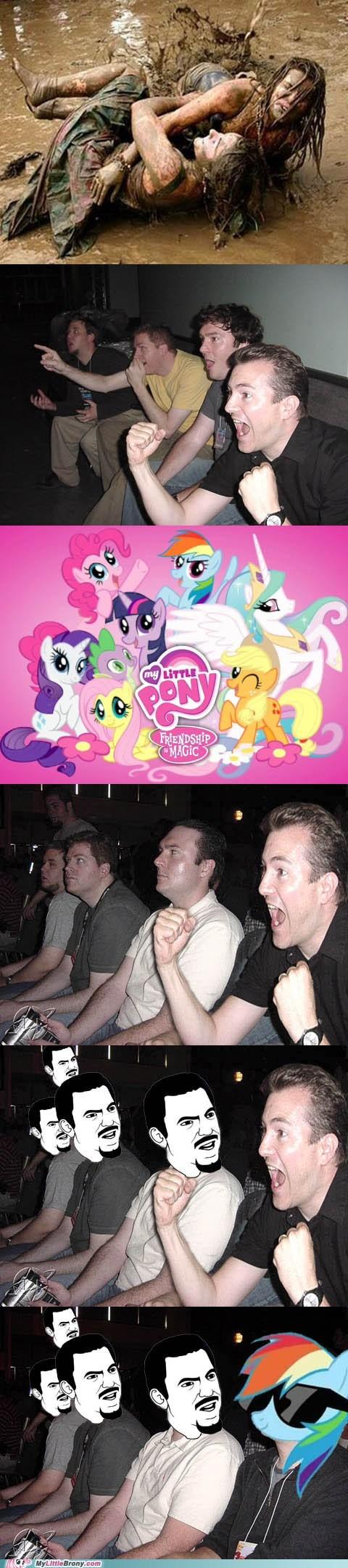 Bronies comics Deal With It rainbow dash reaction guys - 5779026176