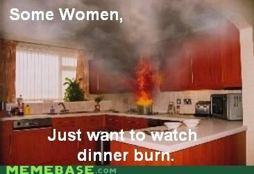 burn dinner kitchen some men women - 5779070976