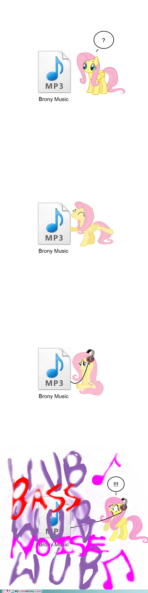 Bronies dubstep fluttershy Music remix the internets - 5779122432