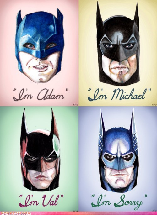 Adam West art batman cool funny george clooney Hall of Fame Michael Keaton val kilmer - 5779273984