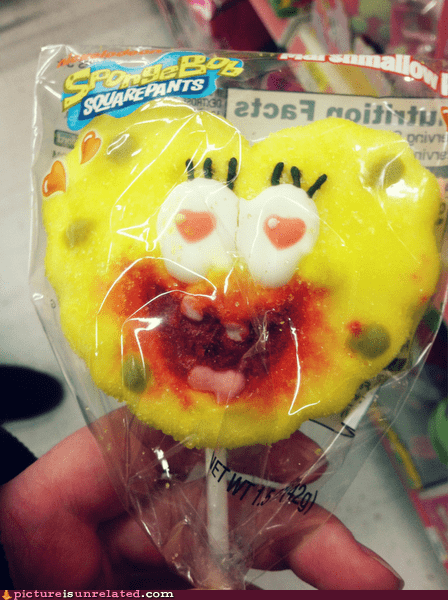 SpongeBob SquarePants valentine vampire wtf - 5779306496