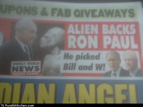 alien Aliens election 2012 political pictures Ron Paul - 5779394304