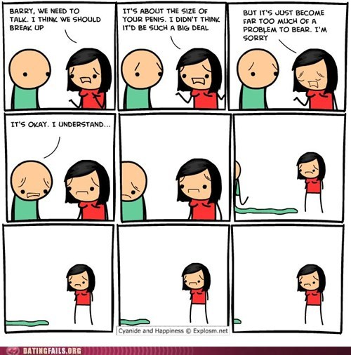 breakup,comic,cyanide-happiness,dong,endowed