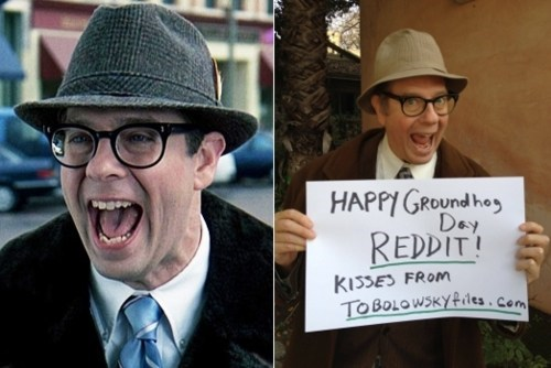 groundhog day,Ned Ryerson,Stephen Tobolowsky