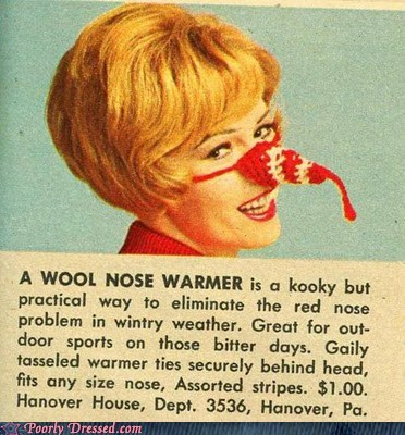 are you sure intended nose warmer - 5779630336