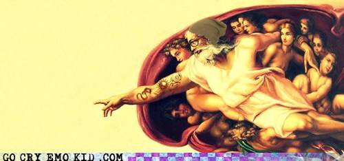 art,biblical,creation of adam,god,hipsterlulz,painting